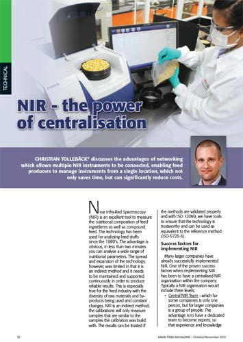 NIR - The Power of Centralisation WhitePaper Frontpage