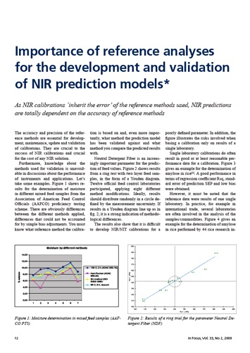 NIR Calibrations whitepaper frontpage