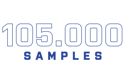 WineScan - number of samples